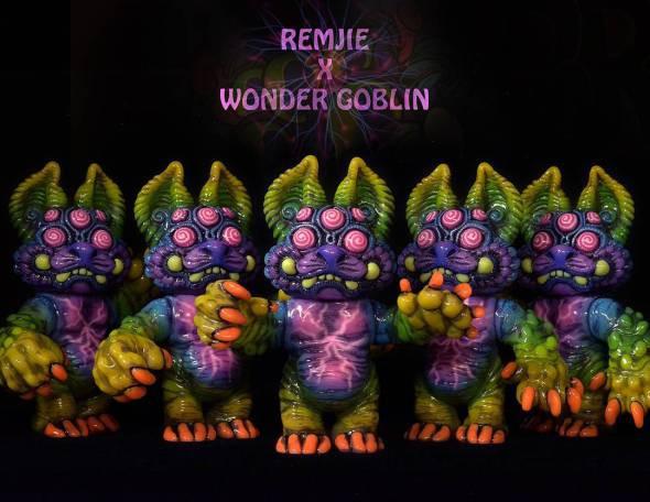 """REMJIE MALHAM x WONDER GOBLIN """"Acid Eater"""" Doro"""