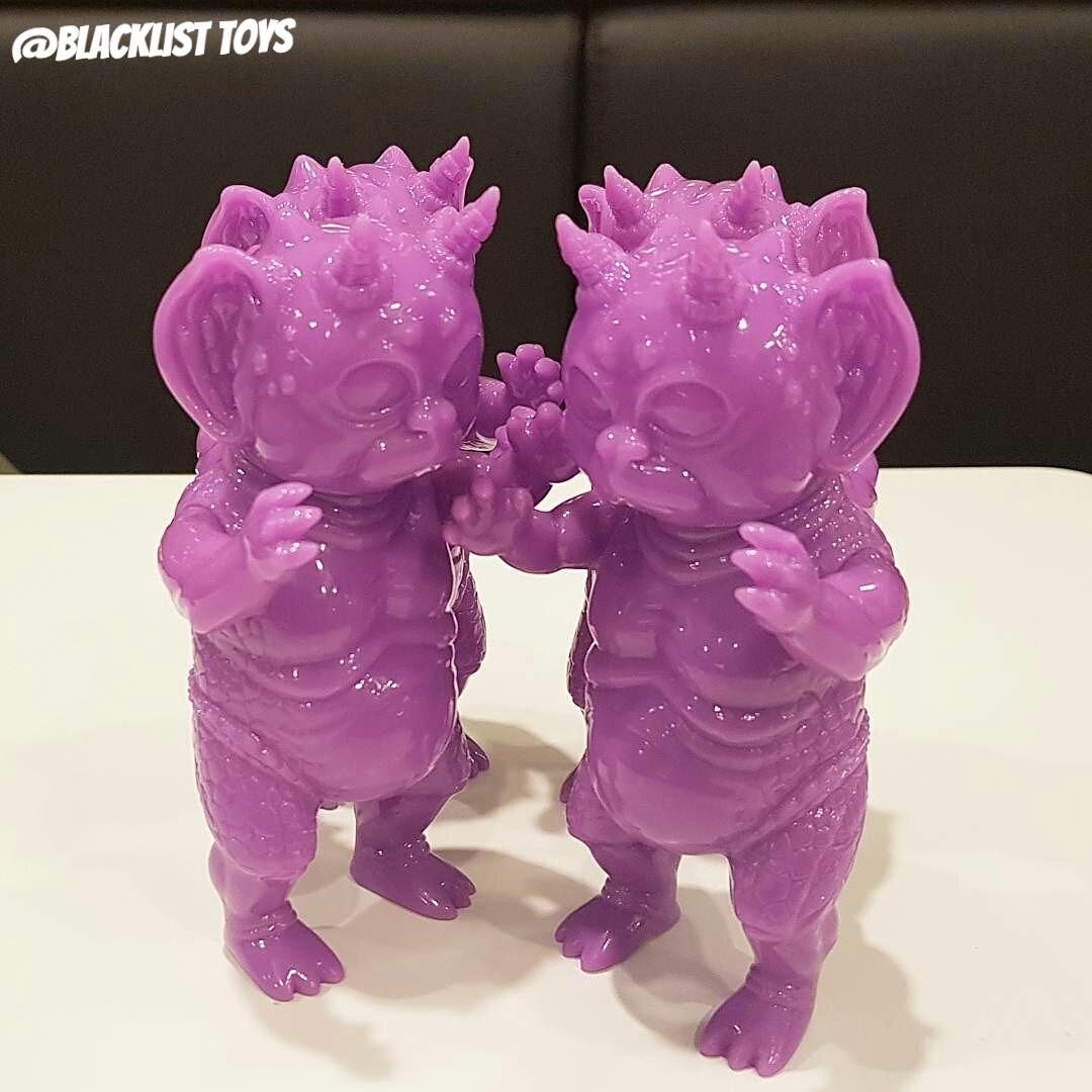 """Crukii """"Purple Blanks"""""""