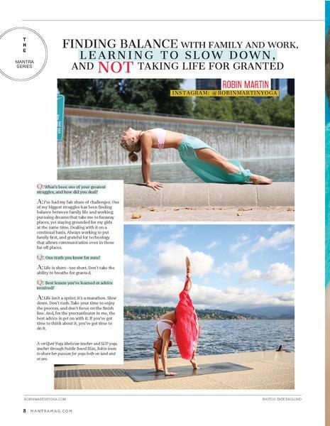 Yoga Journal Thailand Inside