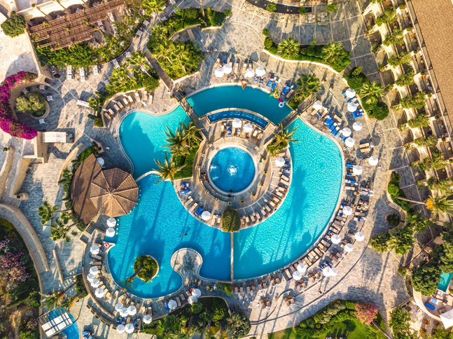 Elysium Resort View from above