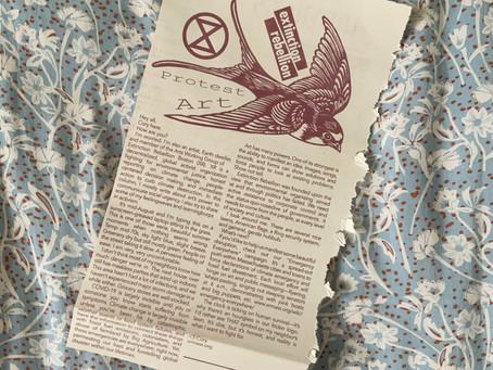 Extinction Rebellion: Art's Power to Communicate Social Urgency
