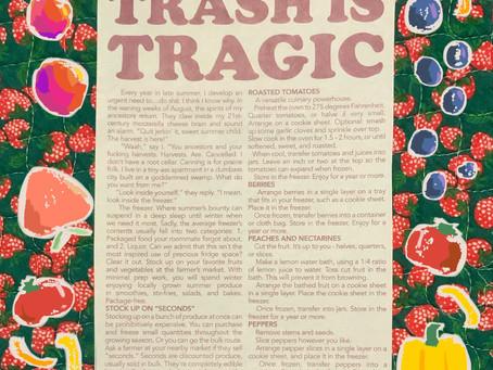 Trash is Tragic: Look Inside Your Freezer