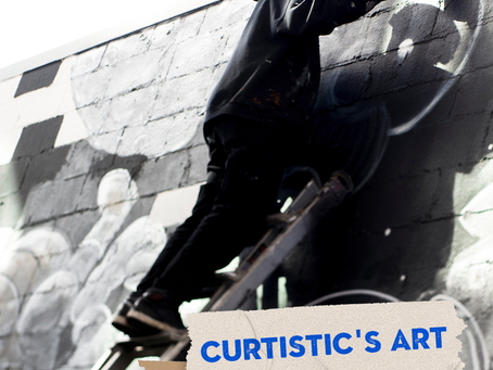 Curtistic's Art — On and Off the Wall