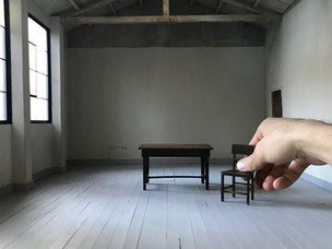 A Call for Art to Be Miniaturized at the Shelter In Place Gallery