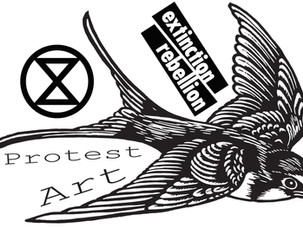 Extinction Rebellion: From-Scratch Recipe For Social Distance Protest Art