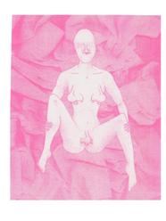 Pink Nose Flair Print