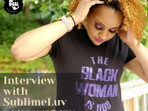 An Intimate Moment with the Activist Through Words, Amber Aliyah Williams aka SublimeLuv