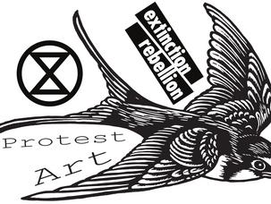 Extinction Rebellion Protest Art — Stickers for Resistance