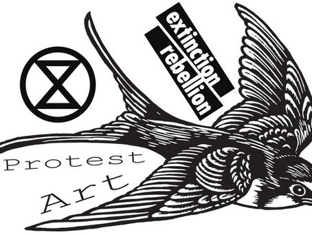 Extinction Rebellion Protest Art — Stickers for Resistance