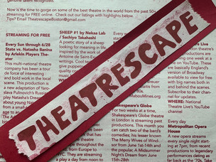 Theatrescape: The Show Must Go On(line)