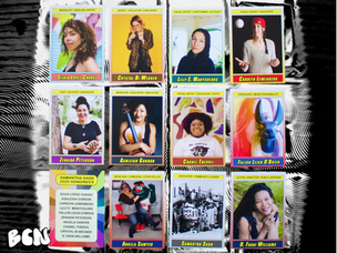 Artist Neil Horsky Channels Nostalgic Novelty with Women in Community Arts Trading Cards
