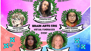 Upcoming virtual art show/BCN fundraiser! Interview with the show's artist-curator, Amaranthia Sepia