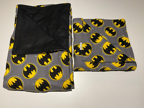 Set - Weighted blanket 7.5lbs and weighted lap pad 3lbs.