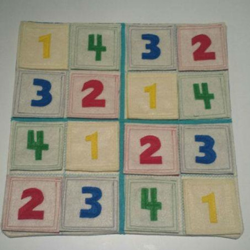 Sudoku with numbers or colours
