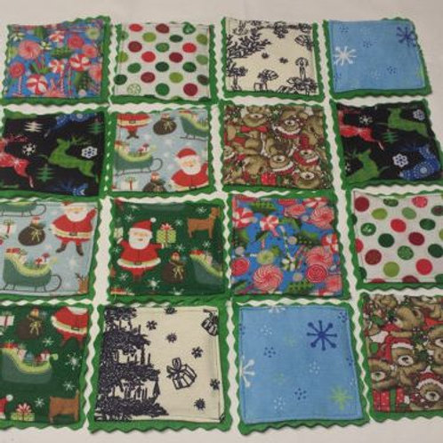 Washable Memory Game - Christmas Print