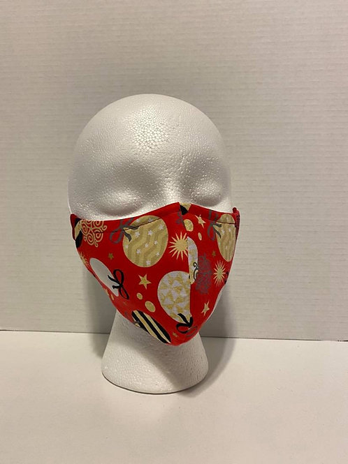 Christmas Print Face Masks
