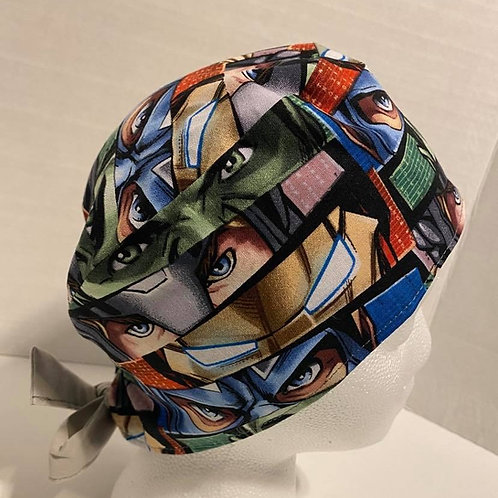 Men's/Unisex Reversible Scrub Cap