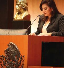 María Elena Barrera Tapia: Senadora de la República