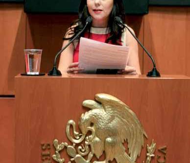 Entrevista. Laura Angélica Rojas Hernández, Senadora de la República como  Representante del Estado
