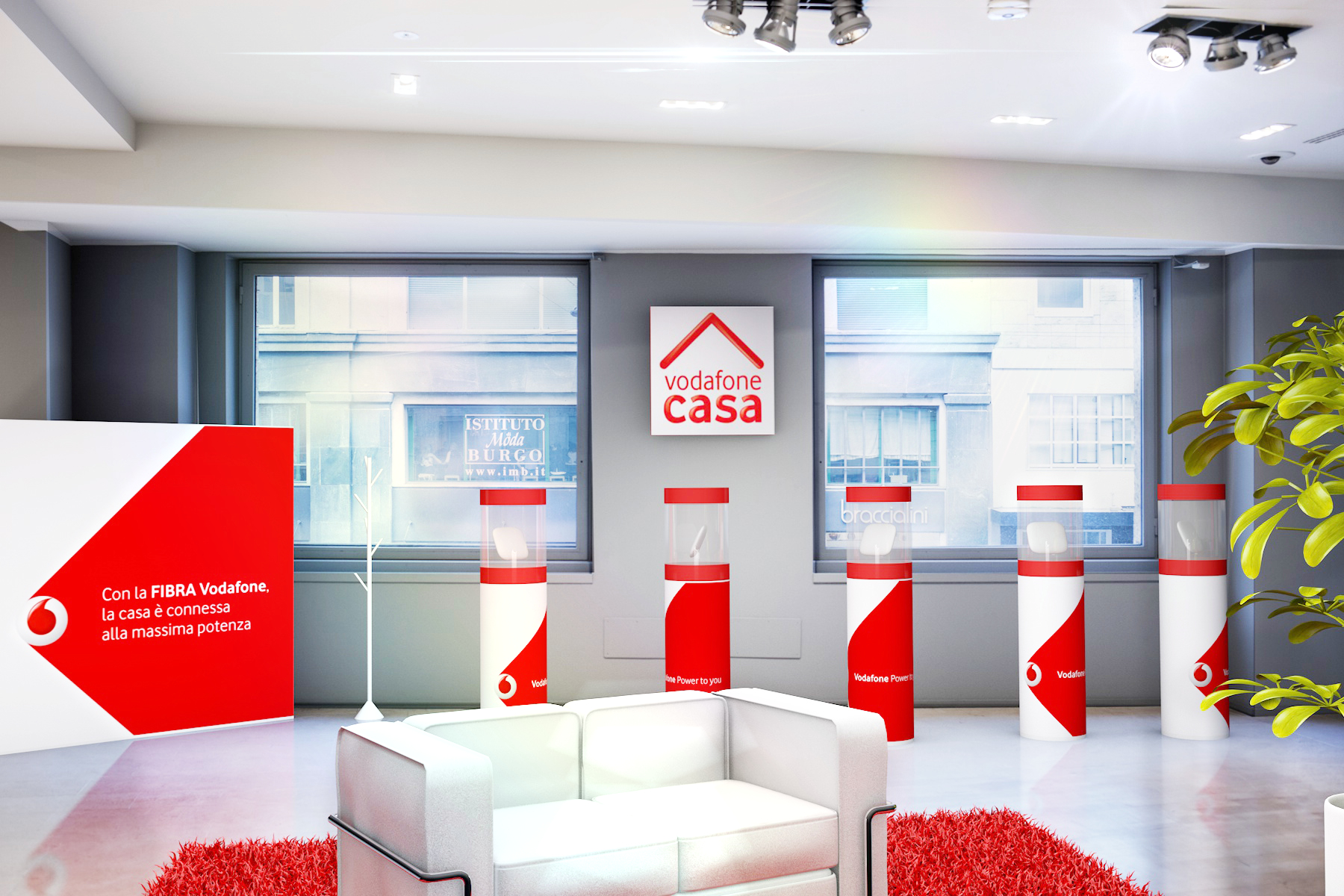 Vodafone Casa / product showcase