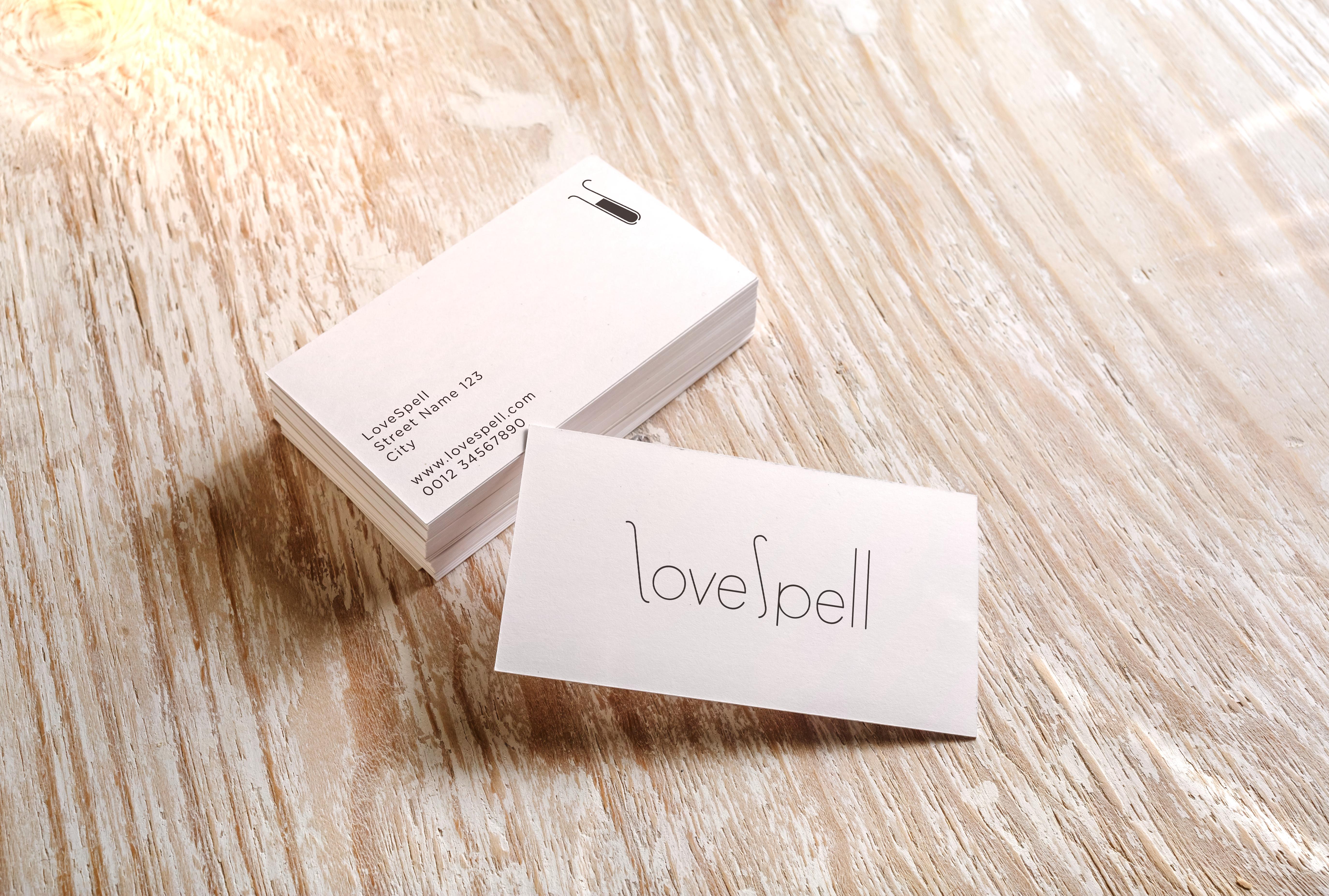 LoveSpell / business cards
