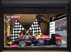 Formula 1 setup