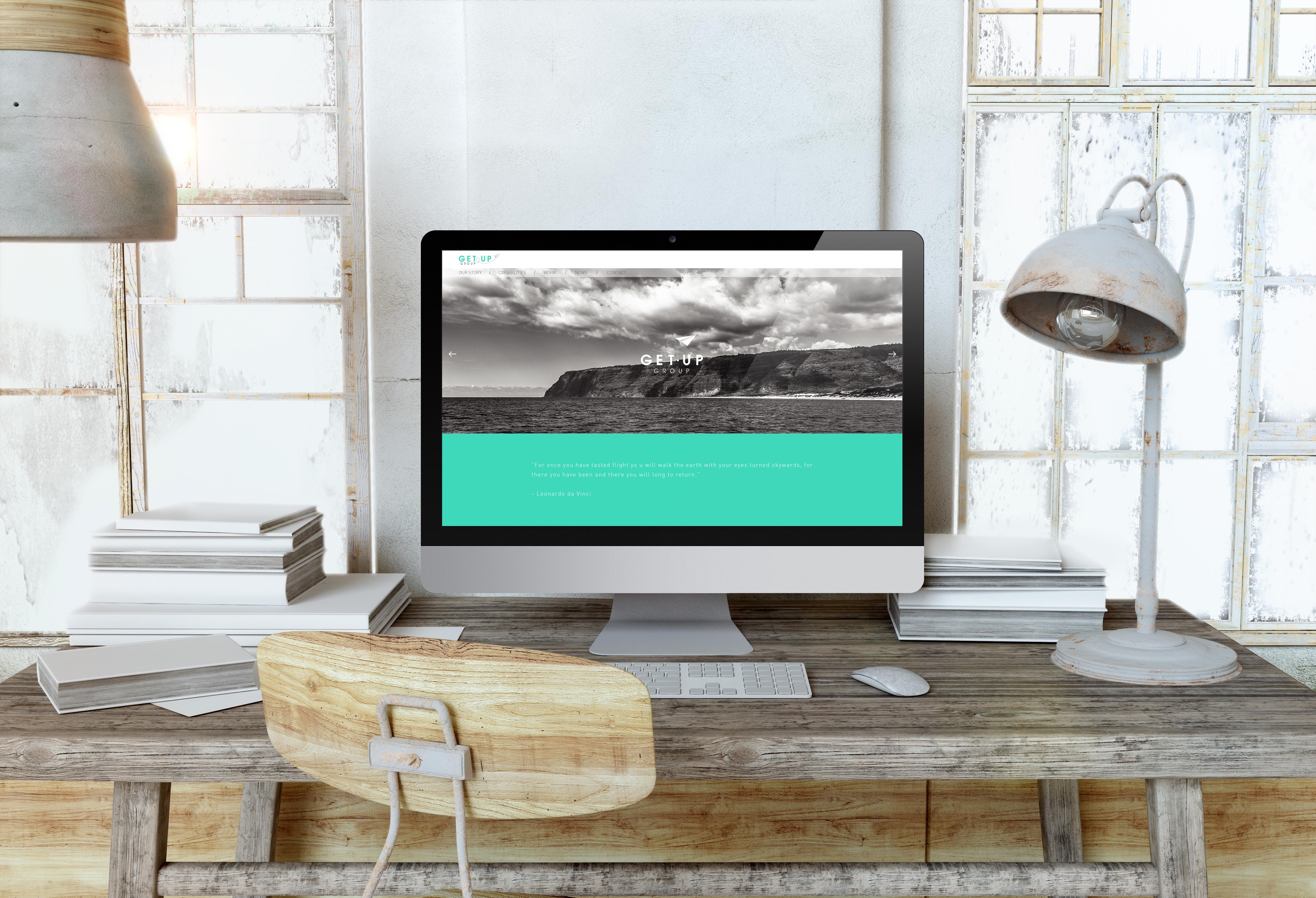 GetUp / website homepage