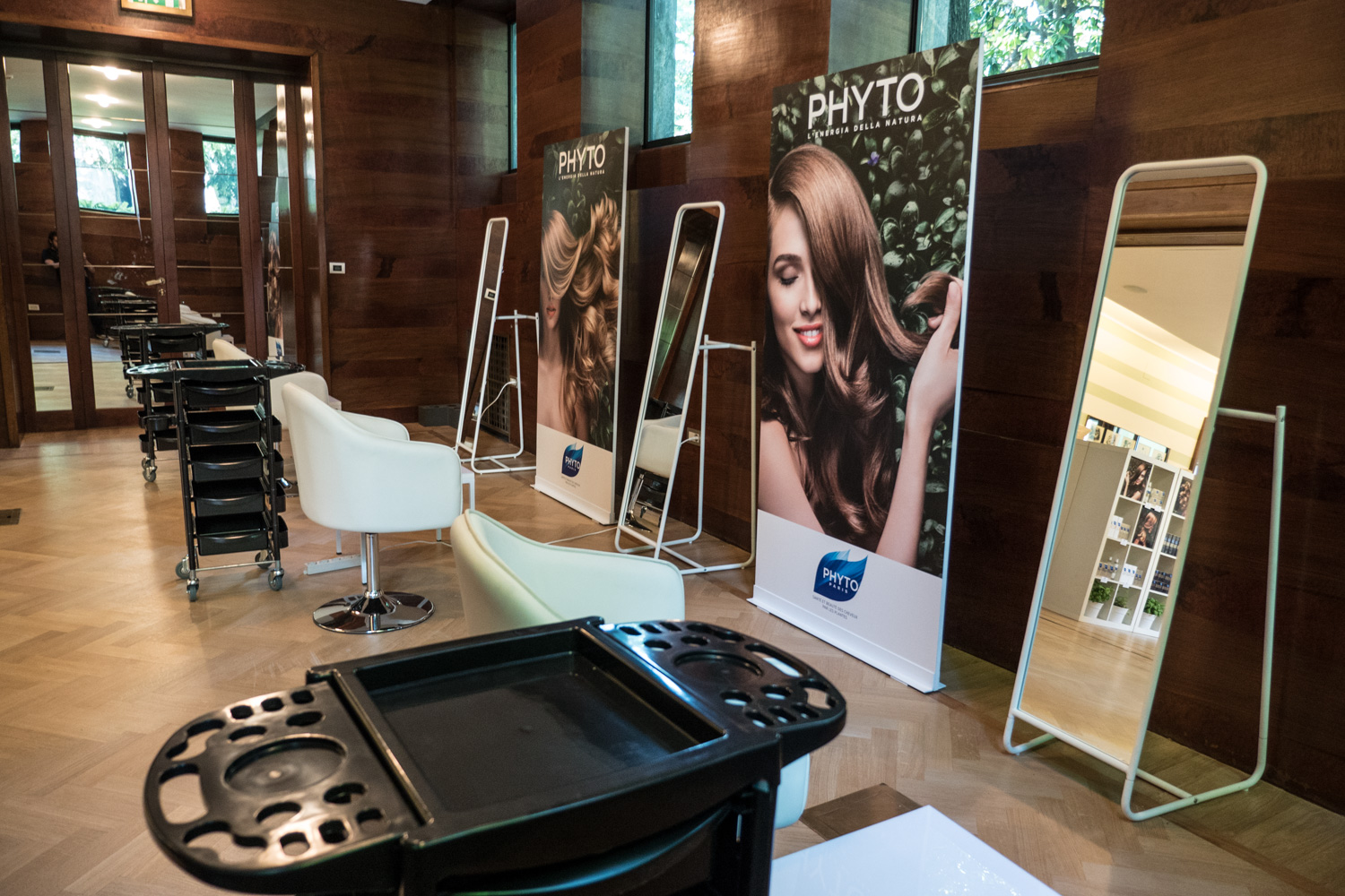 Phyto & IoDonna / hairstyle area