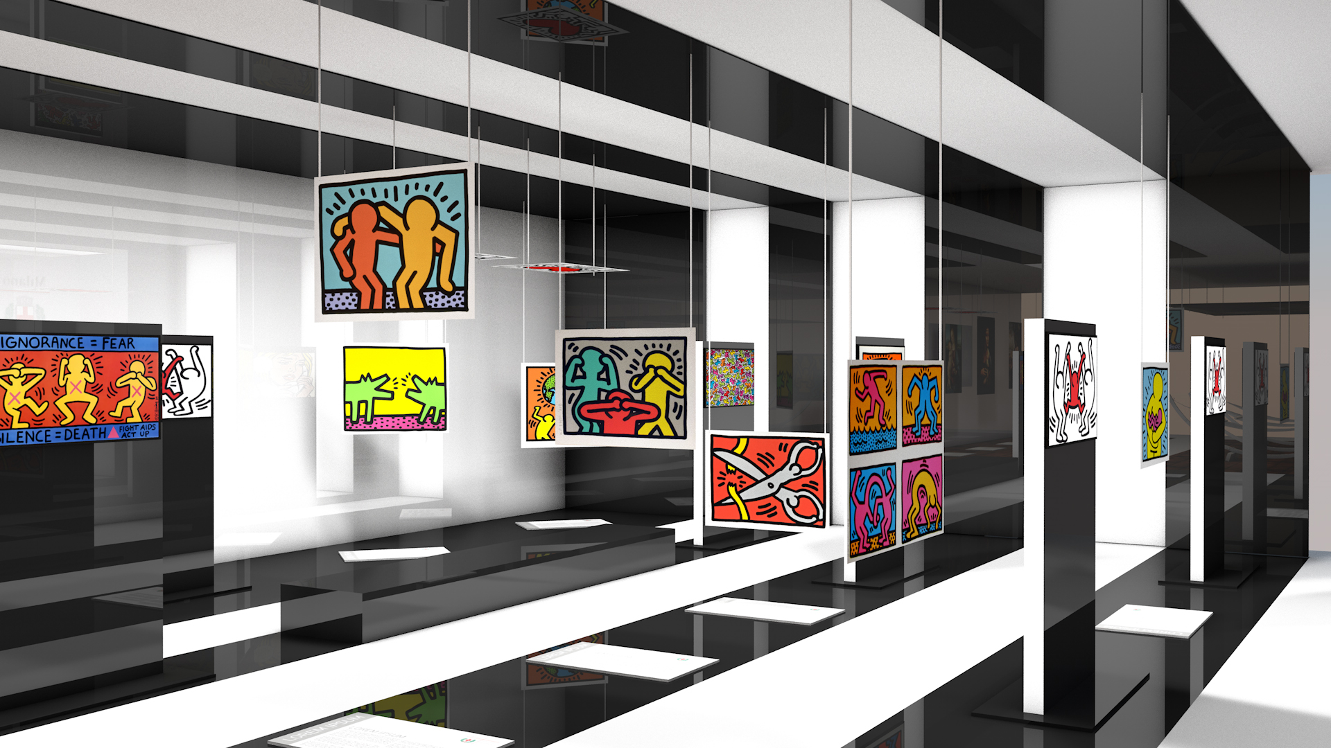 Leonardo Museum / exhibition room