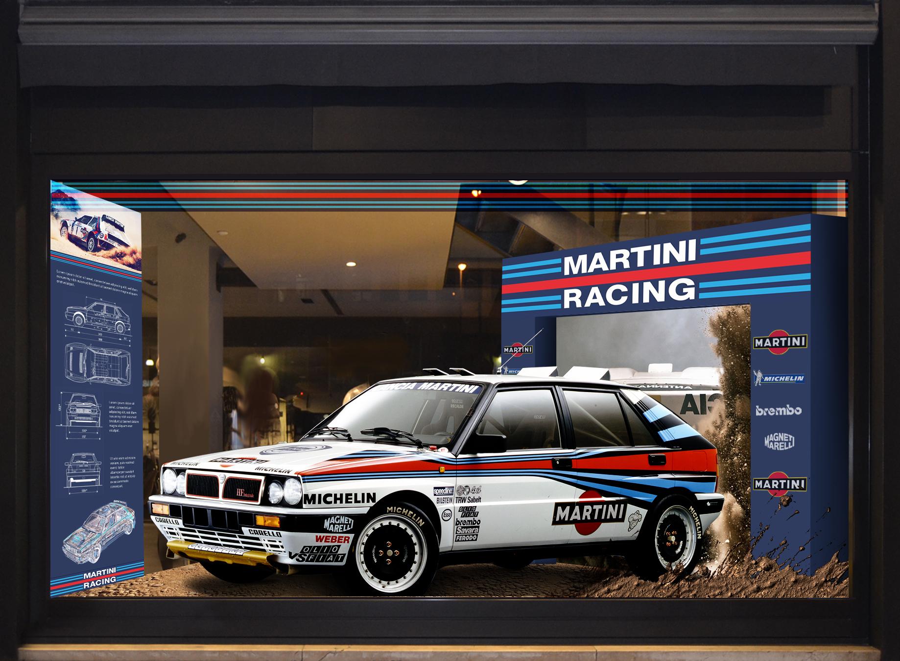 Martini racing setup