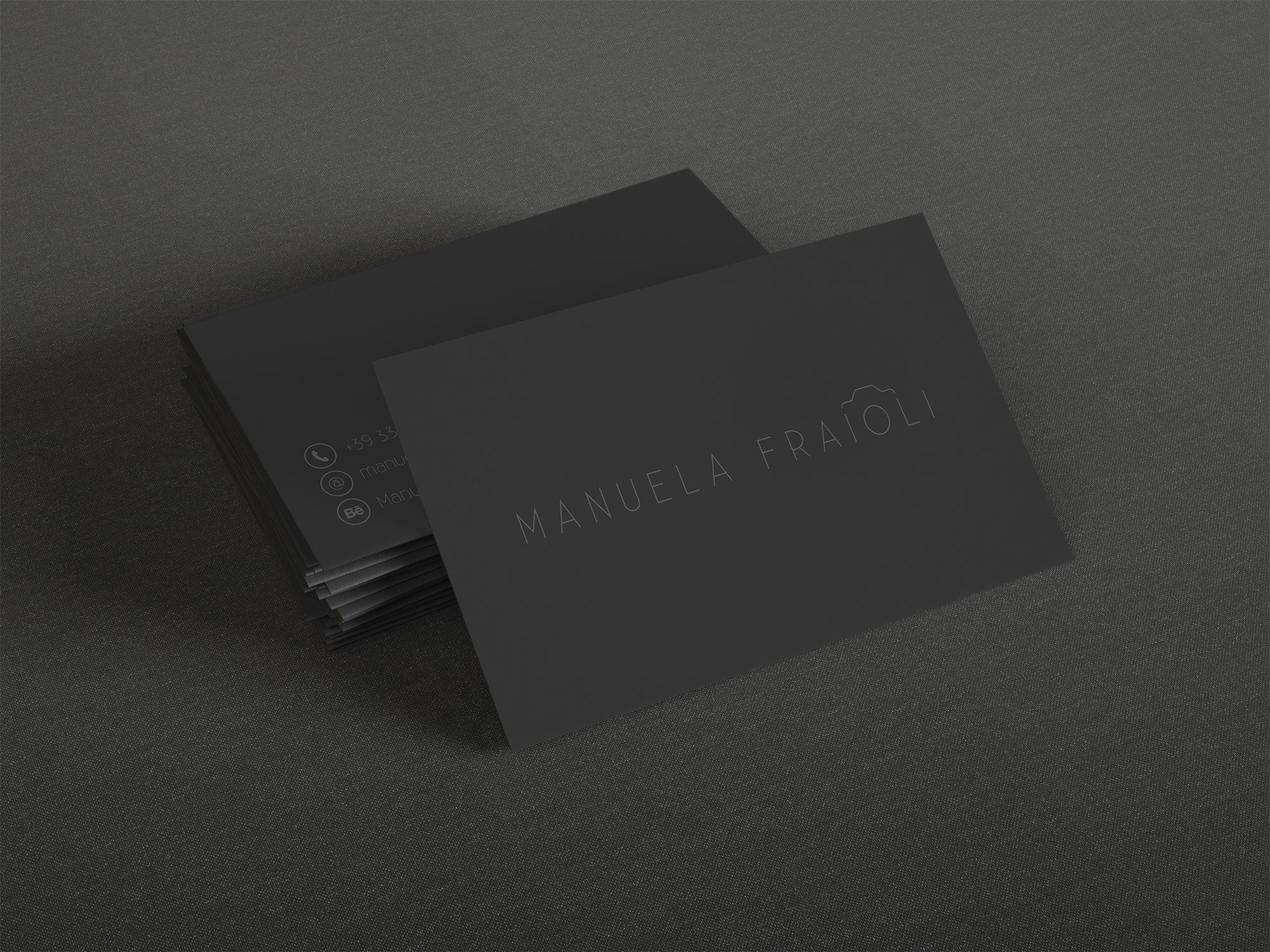 Manuela Fraioli / business card