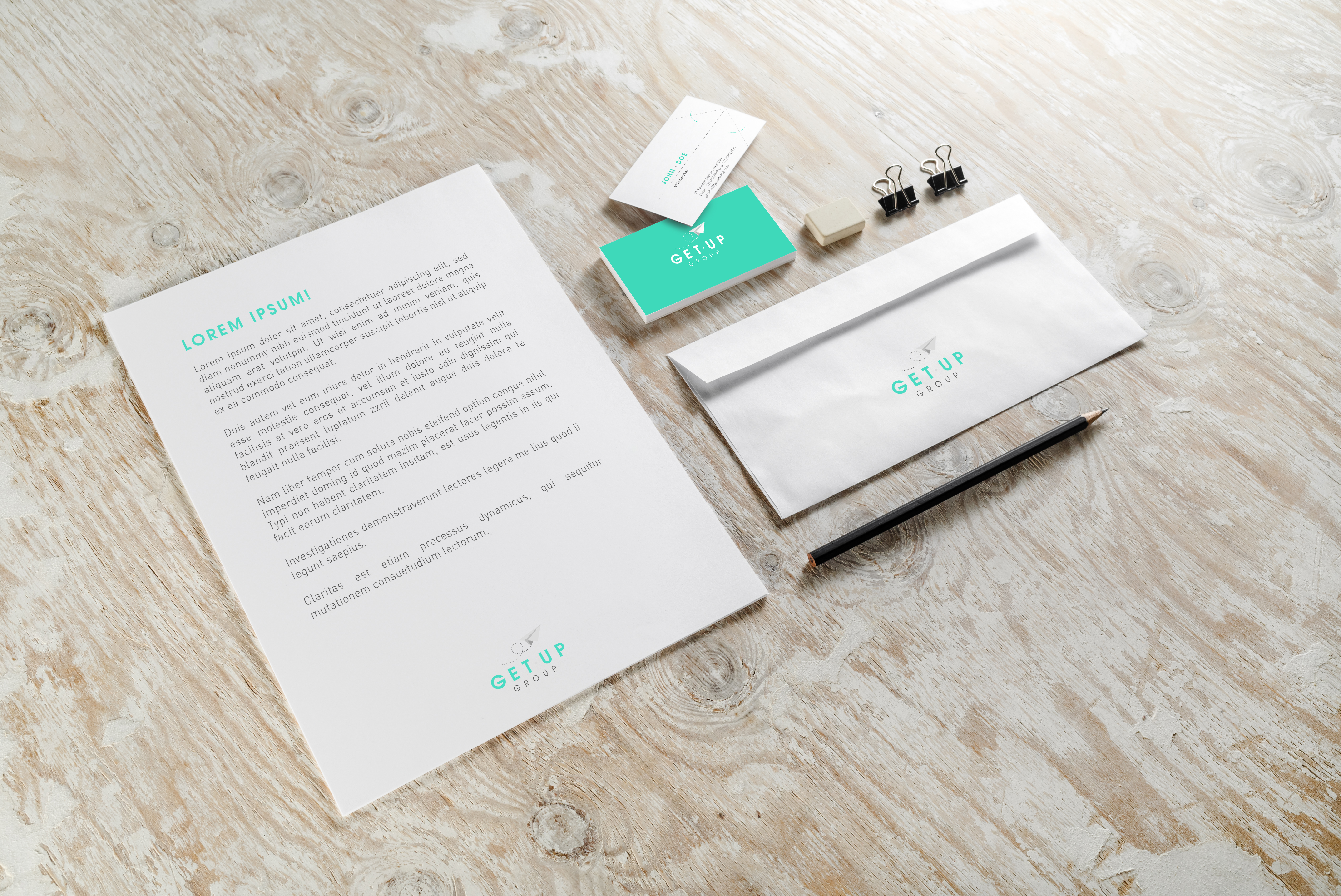 GetUp / corporate brand identity
