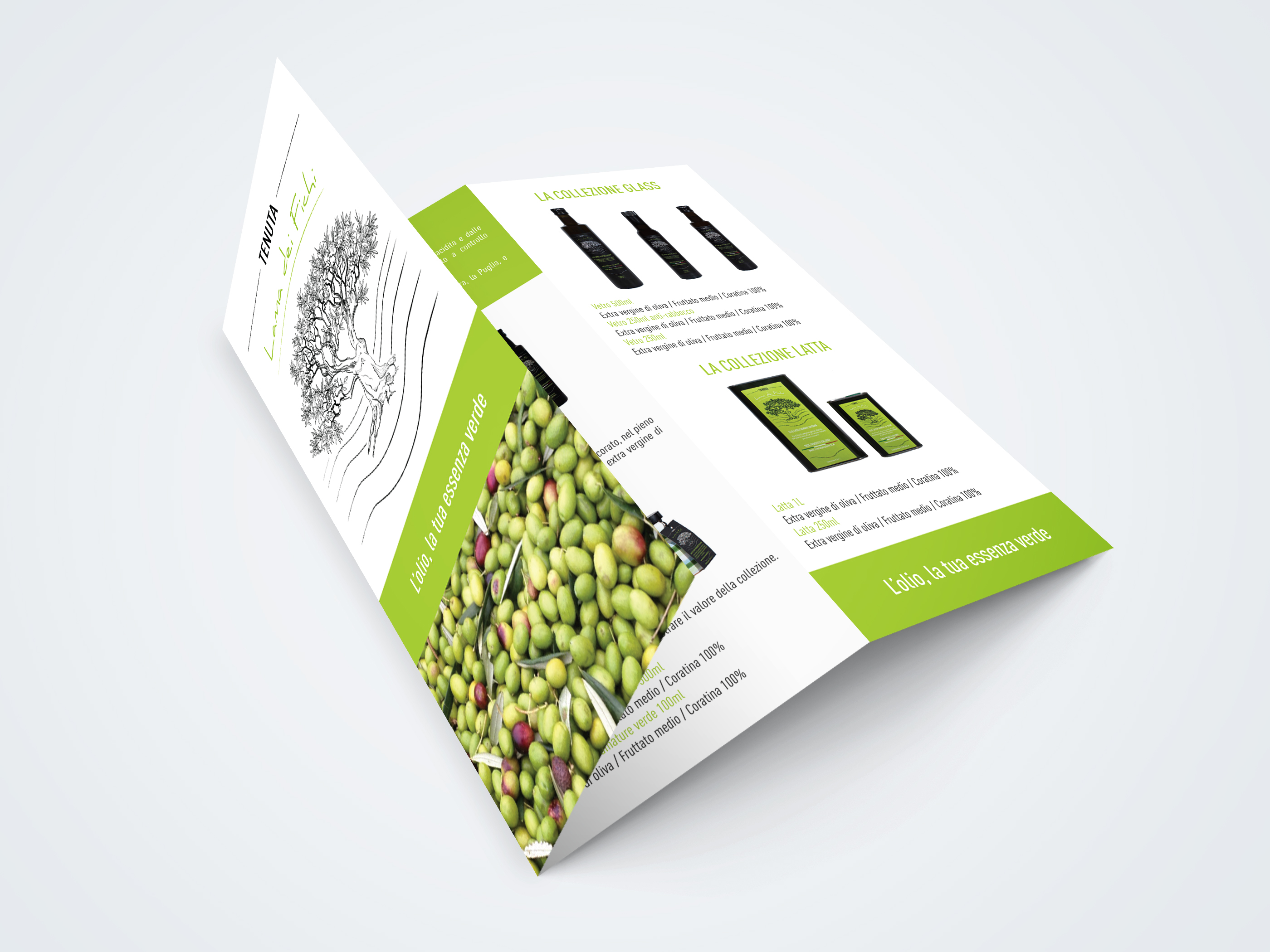 brochure chiusa