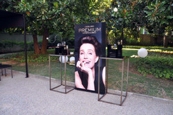 Lierac Premium / product stands