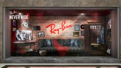 Ray-ban / rock star room