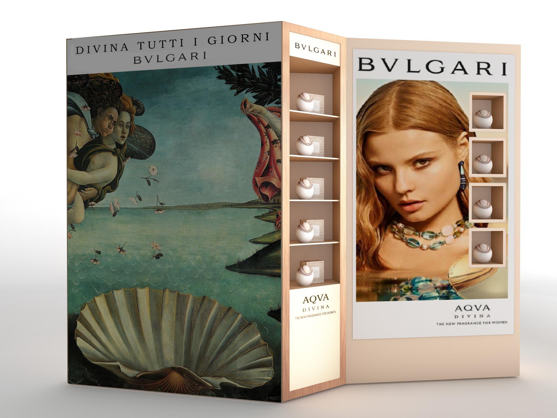 Bvlgari Aqua Divina / 3d furniture