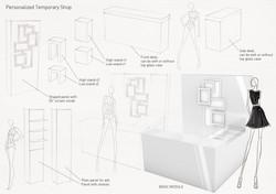 Furniture module combination