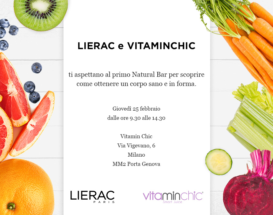 Lierac + Vitaminchic [ dem1 ]