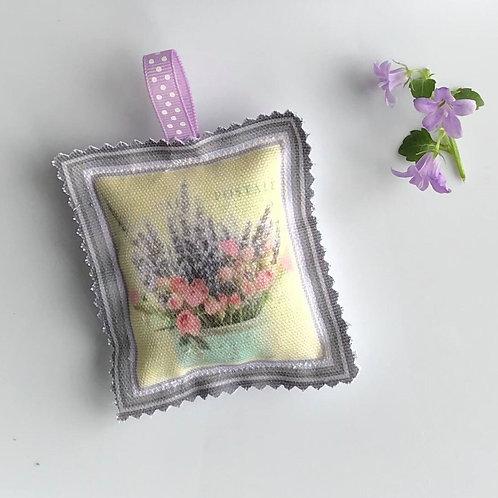 Carte Postale Lavender Sachet Bag