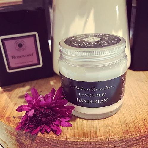 Lothian Lavender hand cream (contains essential oil) 60ml size