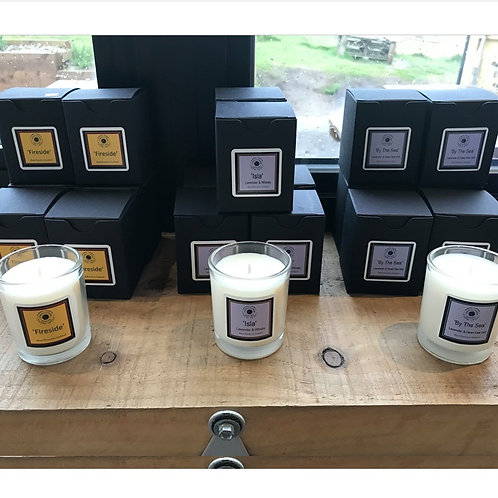 Glass candle range Votive size