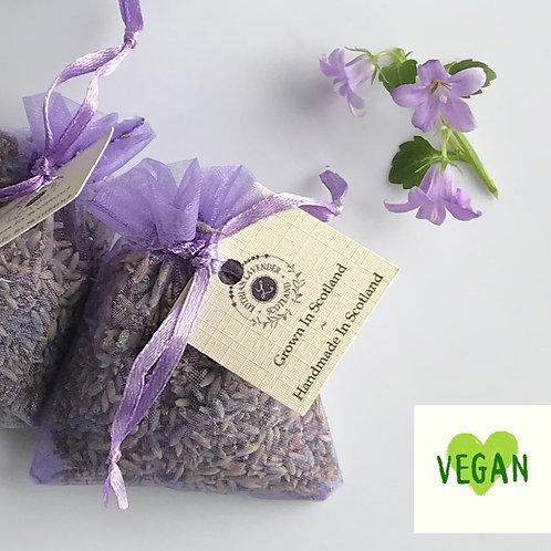 Lothian Lavender Mini organza lavender bags