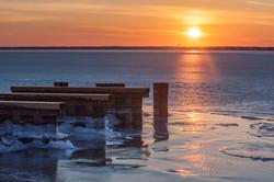 seaside sunset-1400