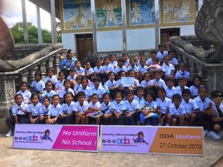 No government school uniform = No school attendance