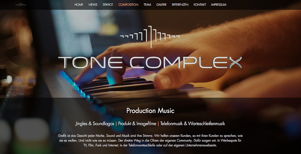 Tone Complex Composition