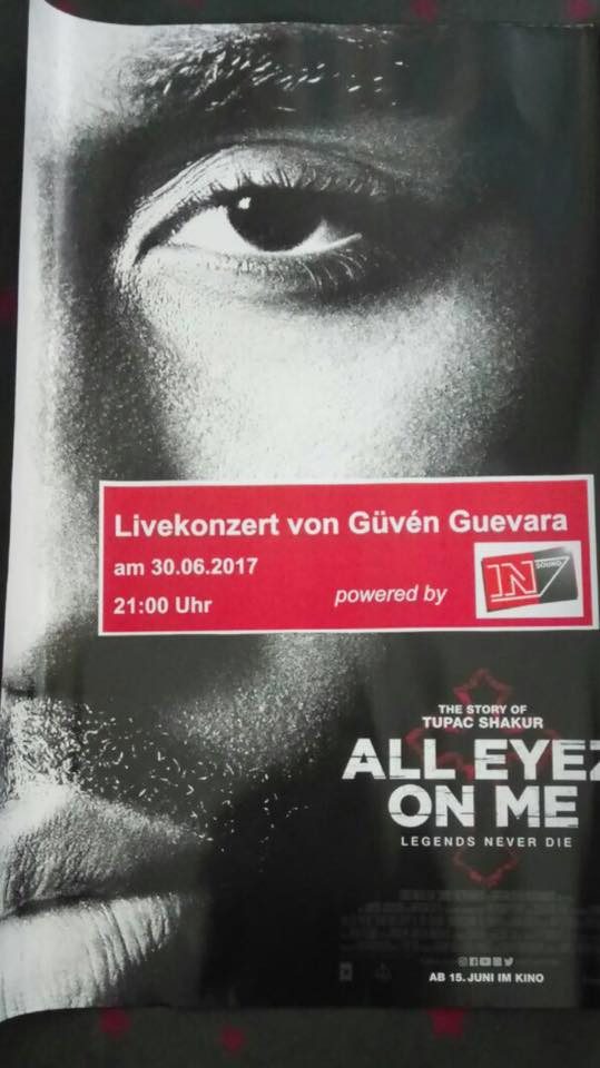 Güven Guevara Cinemaxx Flyer