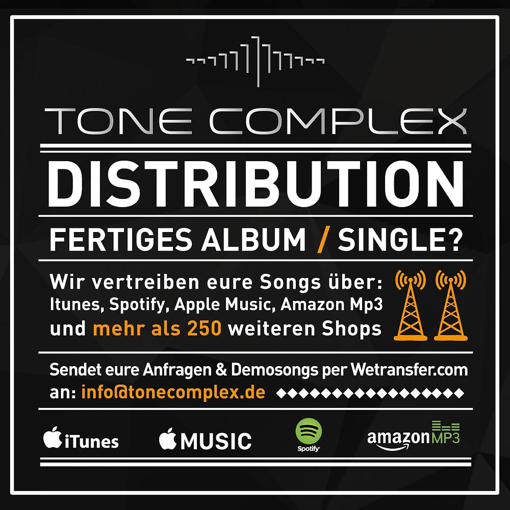 Tone Complex Music - Online Distribution