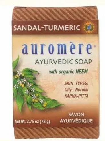 Auromere: Sandal-Turmeric Ayurvedic Soap