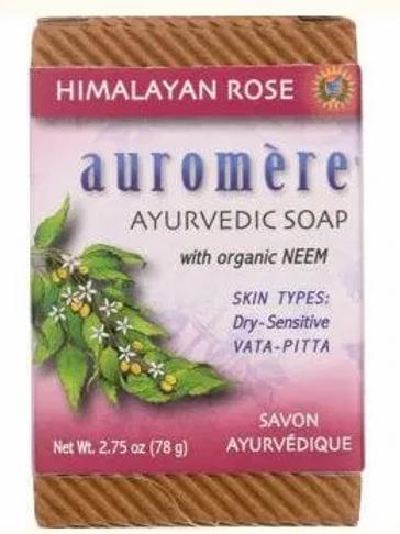 Auromere: Himalayan Rose Ayurvedic Soap