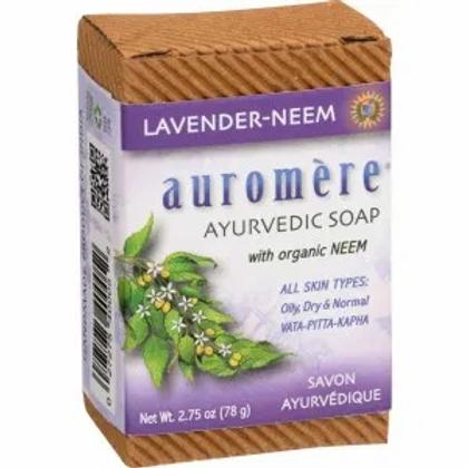 Auromere Lavender-Neem Soap